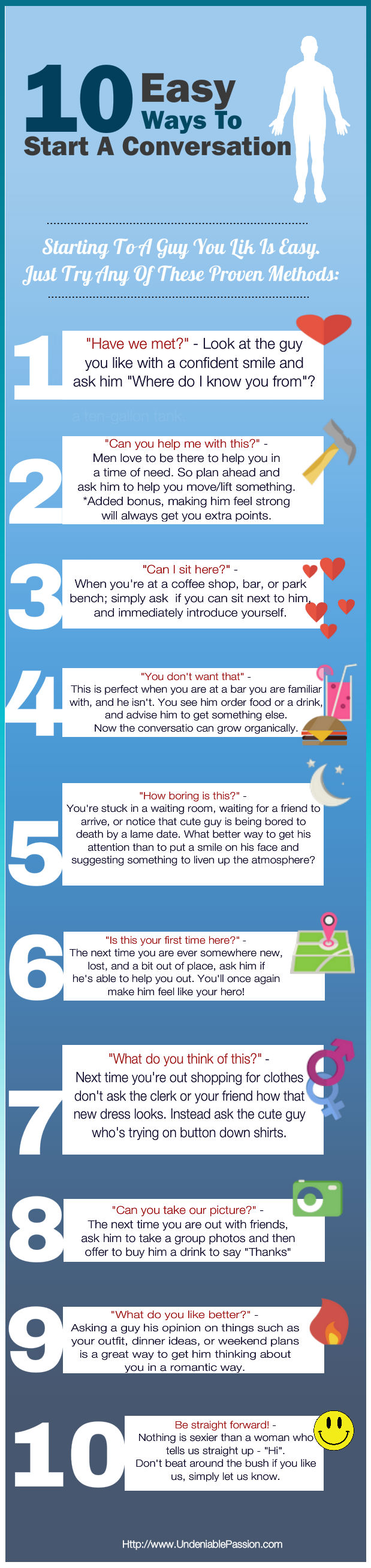 easy ways to start a conversation